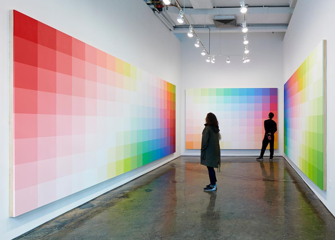 Robert Swain: Color as Color on view at MINUS SPACE, April 2017